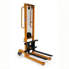 Handbediende stapelaar 250 kg, hefhoogte 1560 mm