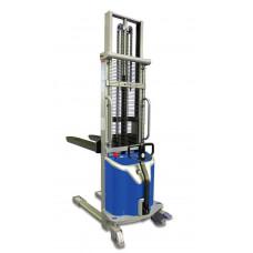 Semi-elektrische stapelaar 1000 KG